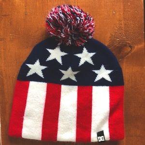 DC American Flag Beanie
